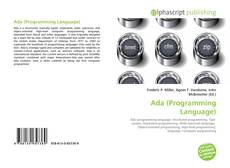 Bookcover of Ada (Programming Language)