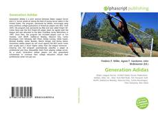 Bookcover of Generation Adidas