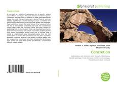 Bookcover of Concretion