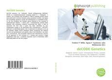 Portada del libro de deCODE Genetics