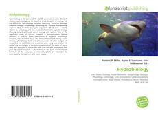 Bookcover of Hydrobiology