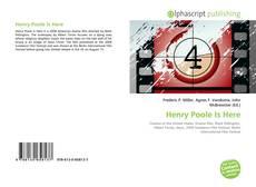 Henry Poole Is Here kitap kapağı