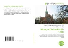 Bookcover of History of Poland (966–1385)