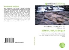 Bookcover of Battle Creek, Michigan