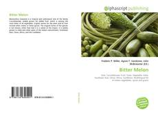 Bookcover of Bitter Melon