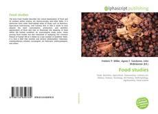Bookcover of Food studies