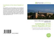 Buchcover von Constitution of the Islamic Republic of Iran