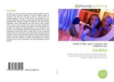Bookcover of Lip Balm