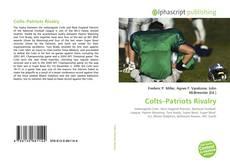 Capa do livro de Colts–Patriots Rivalry