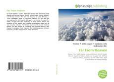 Borítókép a  Far From Heaven - hoz