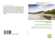 Bookcover of Free Aceh Movement