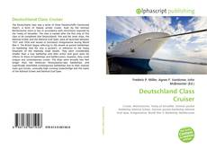 Buchcover von Deutschland Class Cruiser