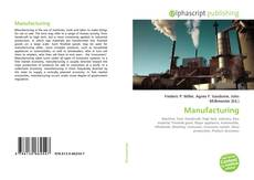 Couverture de Manufacturing