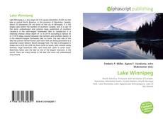 Bookcover of Lake Winnipeg