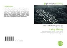 Bookcover of Living history