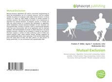 Bookcover of Mutual Exclusion