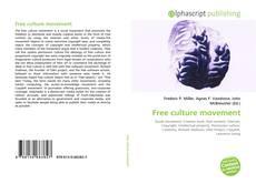 Bookcover of Free culture movement