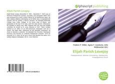 Elijah Parish Lovejoy的封面