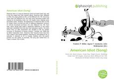 Bookcover of American Idiot (Song)