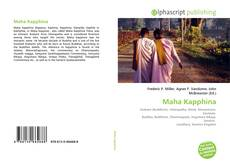 Maha Kapphina kitap kapağı