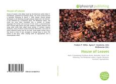 Bookcover of House of Leaves