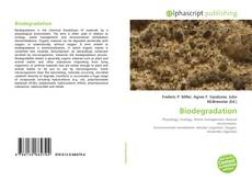 Bookcover of Biodegradation