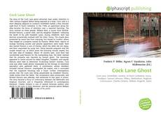 Couverture de Cock Lane Ghost
