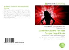 Bookcover of Academy Award for Best Supporting Actress