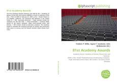 Обложка 81st Academy Awards