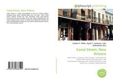 Capa do livro de Canal Street, New Orleans