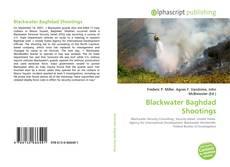 Capa do livro de Blackwater Baghdad Shootings