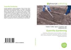 Bookcover of Guerrilla Gardening
