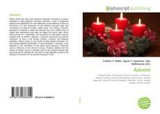 Capa do livro de Advent