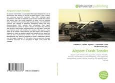 Airport Crash Tender kitap kapağı