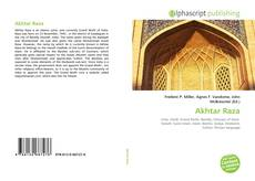 Bookcover of Akhtar Raza