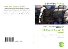 Bookcover of Khalid Saeed Ahmad Al Zahrani
