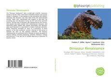 Обложка Dinosaur Renaissance