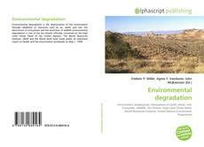 Environmental degradation的封面