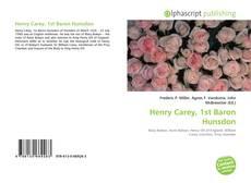 Portada del libro de Henry Carey, 1st Baron Hunsdon