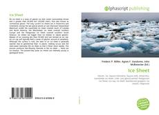 Bookcover of Ice Sheet