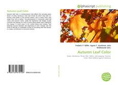 Buchcover von Autumn Leaf Color