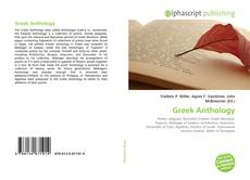 Bookcover of Greek Anthology