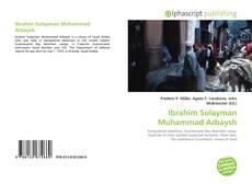 Ibrahim Sulayman Muhammad Arbaysh kitap kapağı