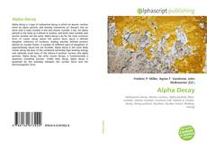 Bookcover of Alpha Decay