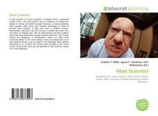 Capa do livro de Mad Scientist