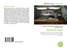 Обложка Electronic Paper
