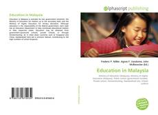 Bookcover of Education in Malaysia
