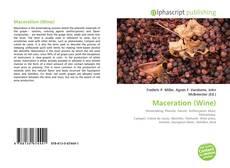 Portada del libro de Maceration (Wine)