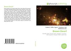 Bookcover of Brown Dwarf
