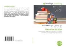 Bookcover of Hawaiian studies